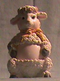 1997 Avon Lamb Egg Pals- Easter