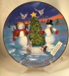 2004 Avon Christmas Collectible Plate-New in Original Box