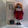 1995 Avon First Day of School Doll-Caucasian