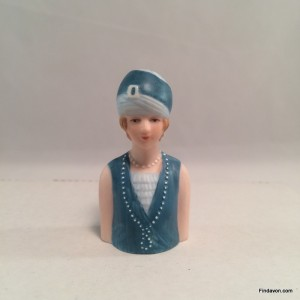 1927 Avon Fashion Thimble - Flapper