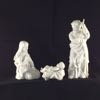 1981 Avon Nativity Holy Family Figurines-Bisque