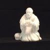 1982 Avon Nativity Melchior Figurine- The Magi - Avon White Bisq