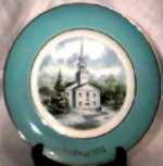 SO-1974 Avon Christmas Plate