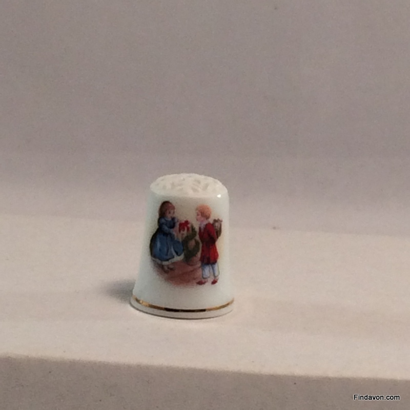 SO-1984 Avon Christmas Thimble