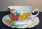 1991 Avon November-Blossoms of the Month Cup and Saucer