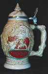SO-1994 Avon Father Christmas Stein