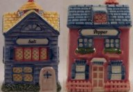 1997 Avon Cottage Collection Salt & Pepper Set