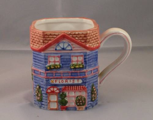 1997 Avon Cottage Collection Florist Mug