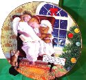 SO-1997 Avon Christmas Collectible Plate-Caucasian