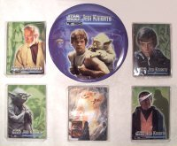 1998 Star Wars Jedi Knights Metal Collector Card Set