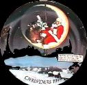 SO-1998 Avon Christmas Collectible Plate Caucasian