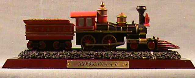 SO-1999 Avon Train - American 4-4-0