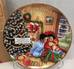 2009 Avon Collectible Christmas Plate-African American