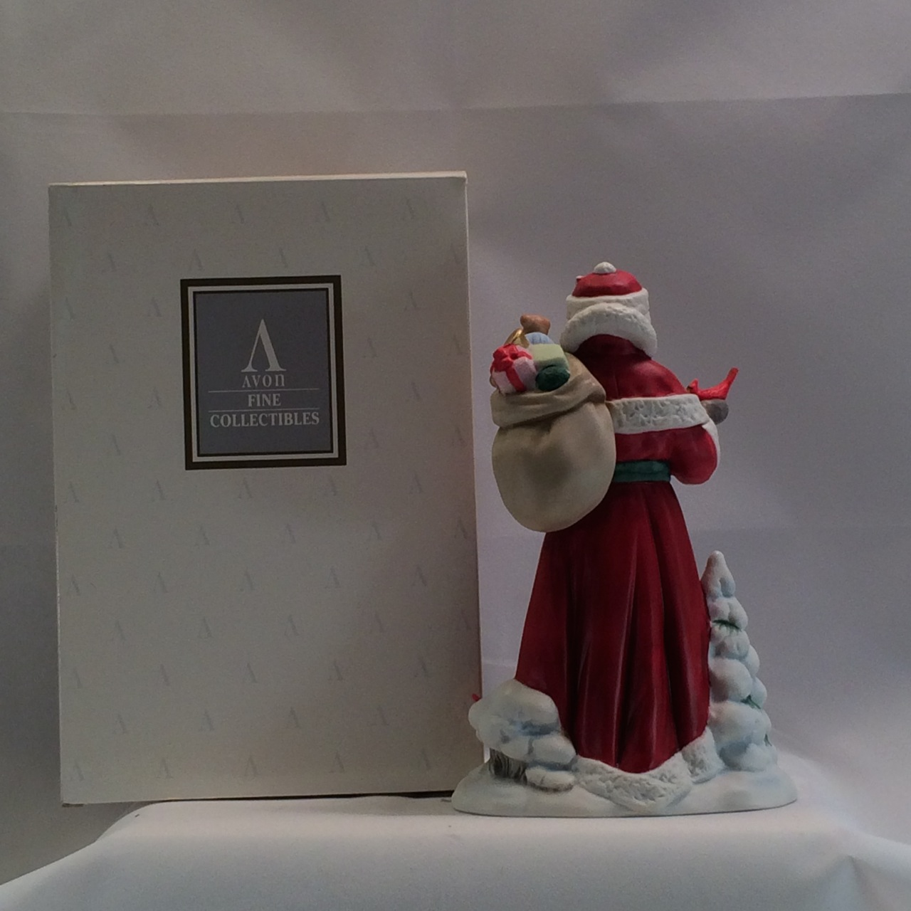 1994 Avon Santa Figurine with Original Box