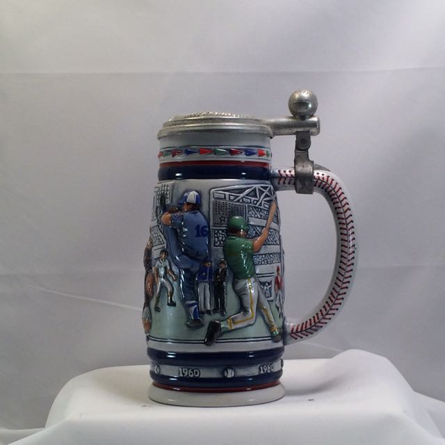 So-1984 Avon Baseball Stein w/box