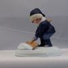 SO-1986 Avon A Winter's Snow Figurine-Jessie Wilcox Smith