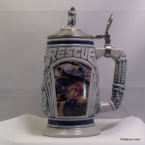 SO-1997 Avon Tribute to Rescue Workers Stein