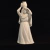 1990 Avon Nativity Woman with Water - Avon White Bisque Nativity