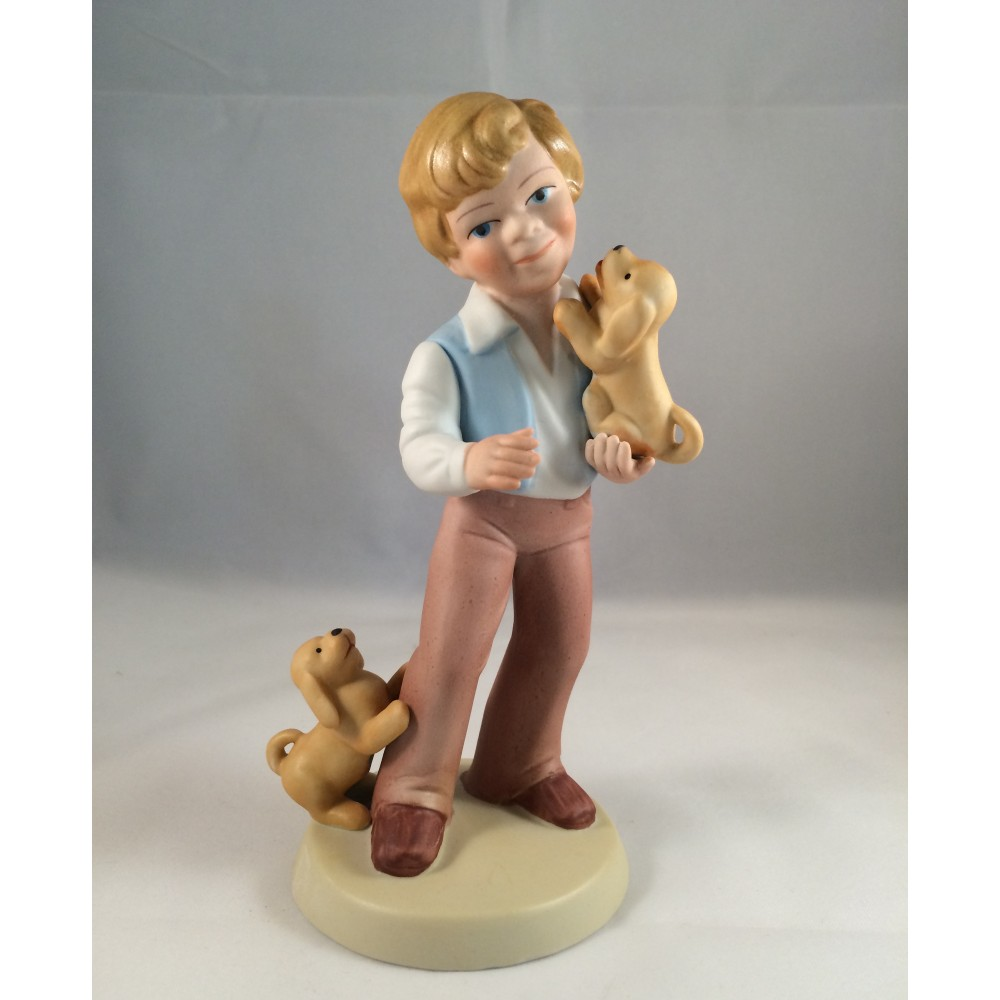 1981 Avon Best Friends Figurine-with Original Box - Click Image to Close