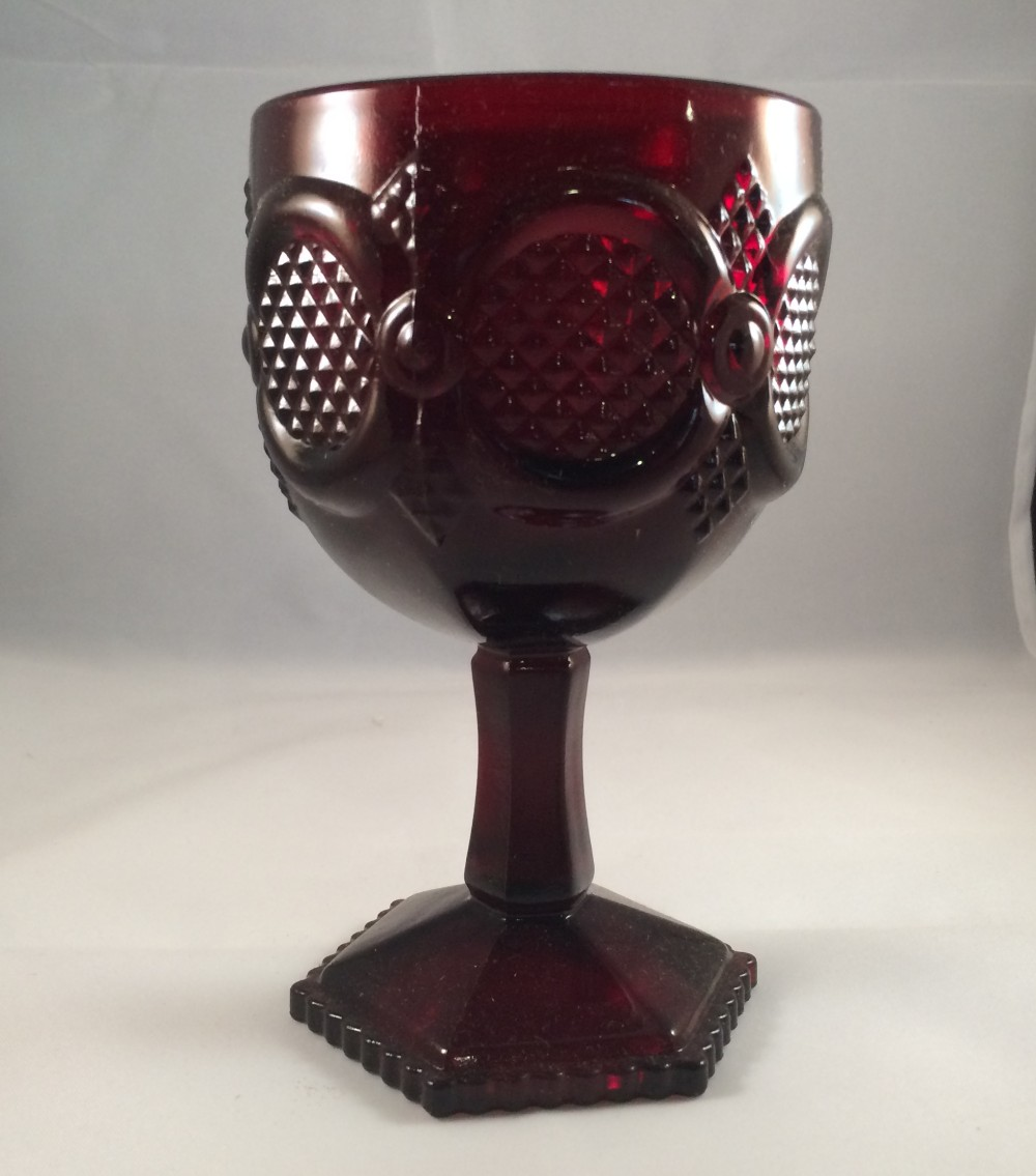 SO-Avon Cape Cod Water Goblet