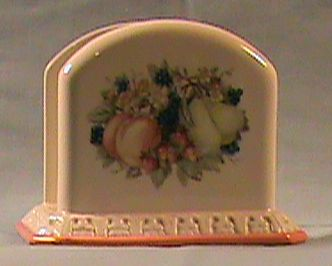 Avon Sweet Country Harvest Napkin Holder