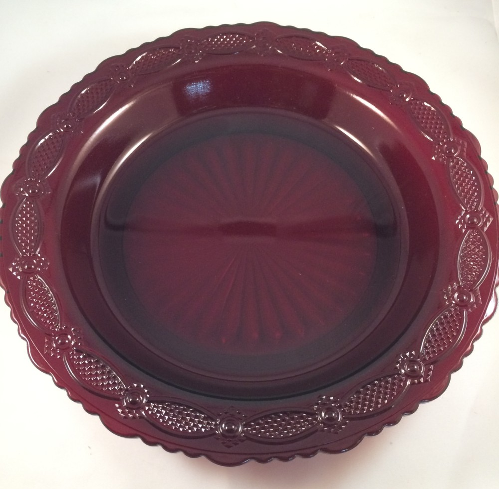 SO-Avon Cape Cod Pie Plate Server
