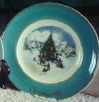 SO-1978 Avon Christmas Plate