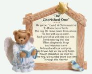 SO-2001 Cherished Teddies Nativity Prayer Plaque