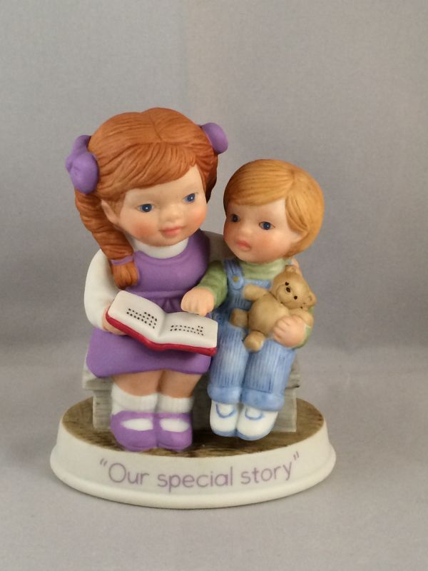 SO-1991 Our Special Story Avon Figurine