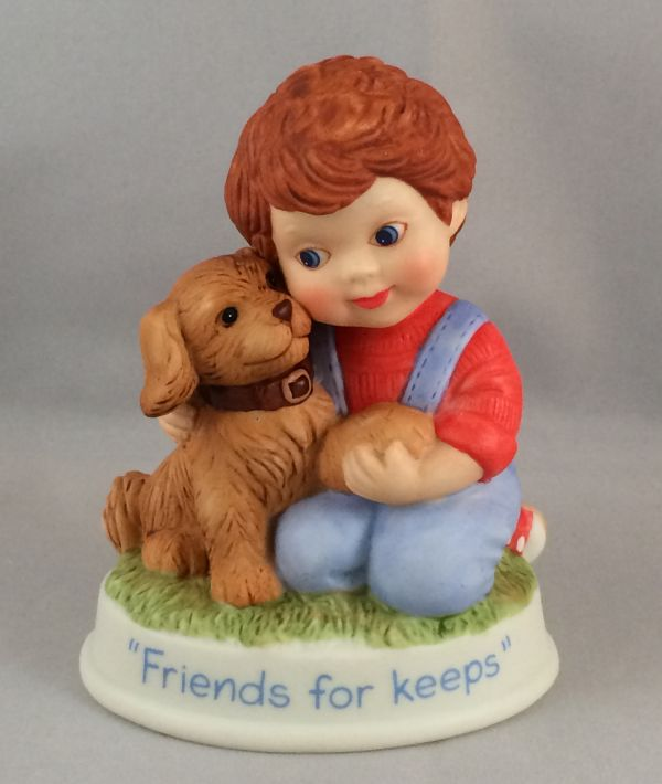 SO-1991 Avon Friends for Keeps Figurine