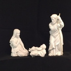1981 Avon Nativity Holy Family Figurines 154-2