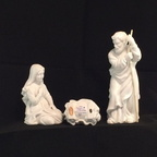 1981 Avon Nativity Holy Family Figurines 154-3