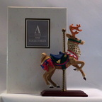 1996 Avon Carousel Collection-Reindeer-large