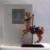 1996 Avon Carousel Collection-Reindeer-100